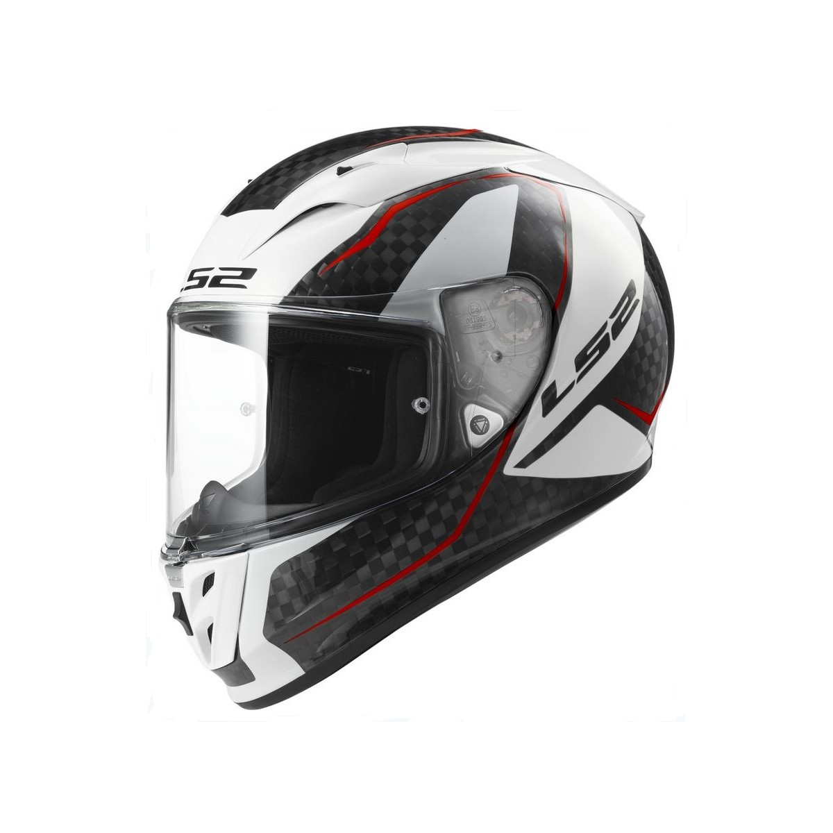 Casco Ls2 Ff323 Arrow C Fury Carbono Blanco Compra Online