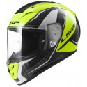 Casco LS2 FF323 Arrow C Fury carbono/amarillo fluor
