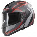 Casco LS2 FF397 Vector Vantage negro mate/rojo