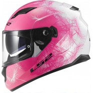 Casco LS2 FF320 Stream Wind blanco/rosa