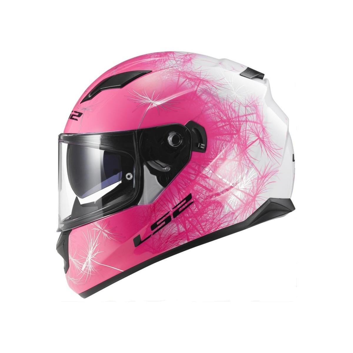 Casco Ls2 Ff320 Stream Wind Blanco Rosa Compra Online