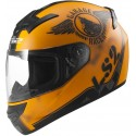 Casco LS2 FF352 Rookie Fan naranja mate