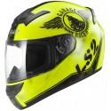 Casco LS2 FF352 Rookie Fan amarillo fluor
