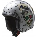 Casco LS2 OF583 Tattoo plata