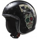 Casco LS2 OF583 Tattoo negro