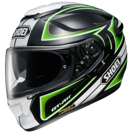 Casco Shoei GT Air Expanse negro/verde