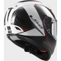 Casco LS2 FF323 Arrow C Fury carbono/blanco