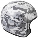 Casco Arai Freeway 2 Command White decorado