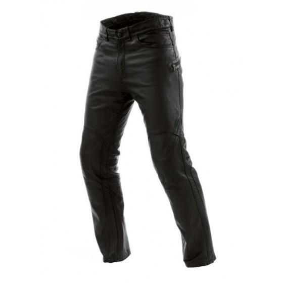 Pantalón Dainese Jeans Trophy pelle negro