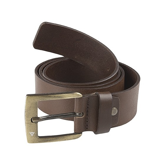 Cinturon Dainese Leather Belt marrón