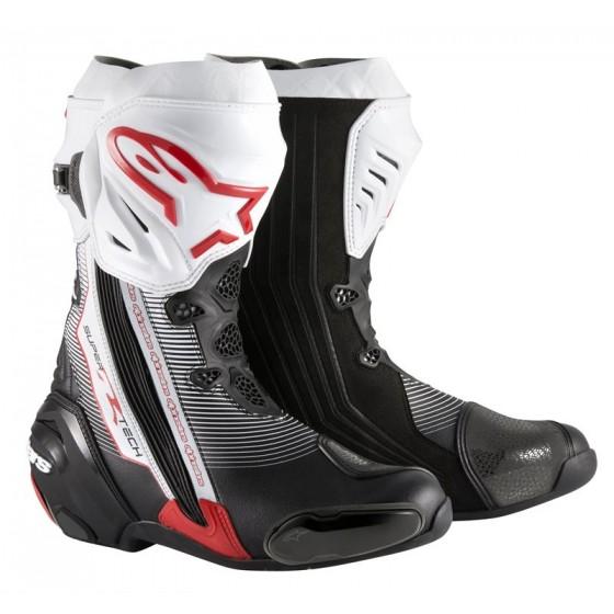 Botas Alpinestars Supertech R negro/rojo/blanco