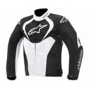 Chaqueta Alpinestars T-Jaws Waterproof negro/blanco