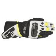 Guantes Alpinestars SP-1 negro/blanco/amarillo
