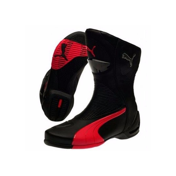 Botas Puma Rodster V2 G-Tex negro/rojo