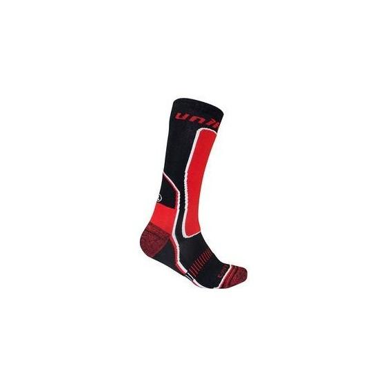 Calcetines Térmicos Unik negro/rojo