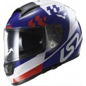 Casco LS2 FF397 Vector Podium blanco/azul