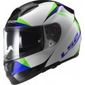 Casco LS2 FF397 Vector Labyrinth blanco/verde