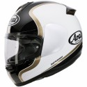 Casco Arai Axces II Dual Black blanco/negro/dorado