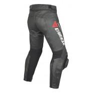 Pantalón Dainese Delta Pro C2 Pelle negro/negro