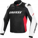 Chaqueta Dainese Racing D1 negro/blanco/rojo
