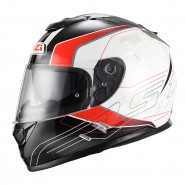 Casco NZI Symbio Duo Aresone White/Red