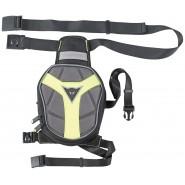 D-Exchange Leg Bag Small Negro/Antracita/Amarillo Fluor