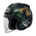 Casco Arai SZ-RAM X Cafe Racer Green