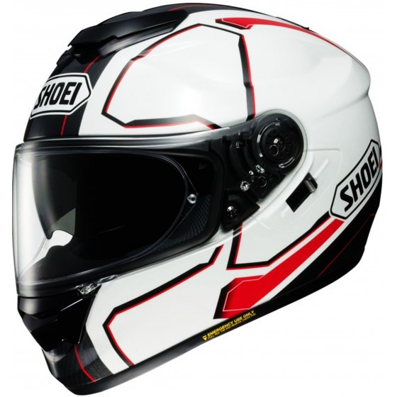 Casco Shoei GT-AIR Pendulum blanco/ negro/ rojo blanco, negro, rojo