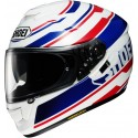 Casco Shoei GT-AIR Primal blanco/ rojo azul blanco, rojo, azul