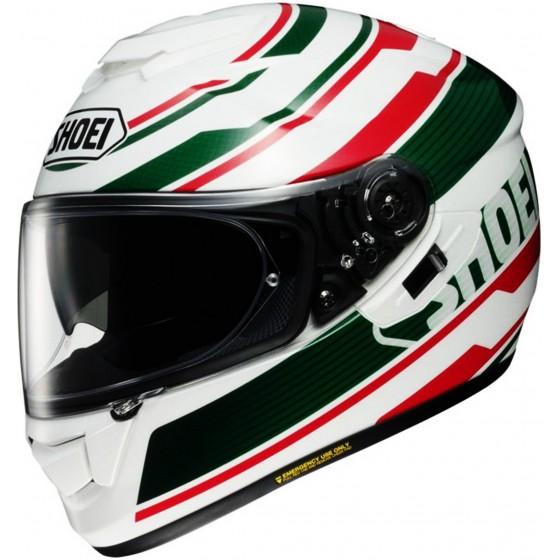 Casco Shoei GT-AIR Primal blanco/ rojo/ verde blanco, rojo, verde