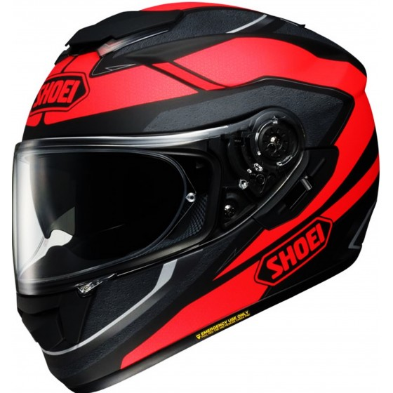 Casco Shoei GT-AIR Swayer negro mate/ rojo negro mate, rojo