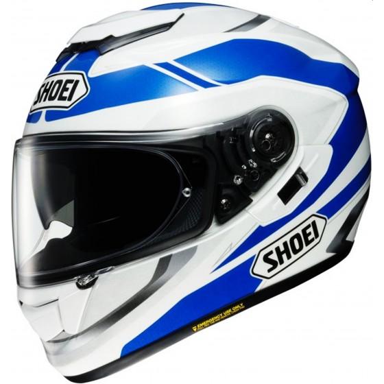 Casco Shoei GT-AIR Swayer blanco/ azul blanco, azul