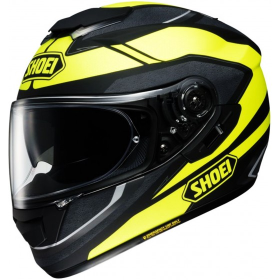 Casco Shoei GT-AIR Swayer negro mate/ amarillo negro mate, amarillo