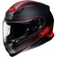 Casco Shoei NXR Flagger negro mate/ rojo negro mate, rojo