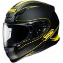 Casco Shoei NXR Flagger negro mate/ amarillo negro mate, amarillo