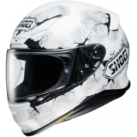 Casco Shoei NXR Ruts blanco mate