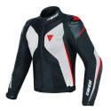 Chaqueta Dainese Super Rider D-Dry negro/ blanco/ rojo negro, blanco, rojo