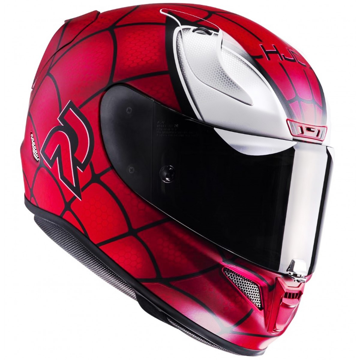 Casco Hjc Rpha Spiderman Rojo on 92 Integra Interior