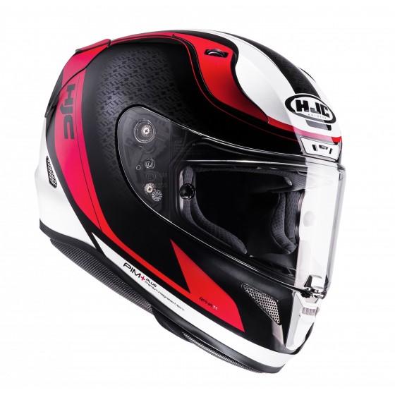 Casco HJC RPHA 11 Riomont negro/ rojo/ blanco negro, rojo, blanco