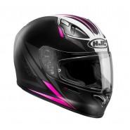 Casco HJC FG 17 Valve negro/ rosa negro, rosa