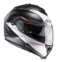 Casco HJC Is-Max II Magma negro, blanco, rojo
