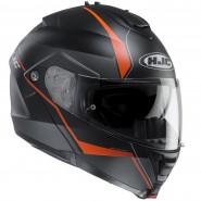 Casco HJC IS-Max II Mine negro/ naranja