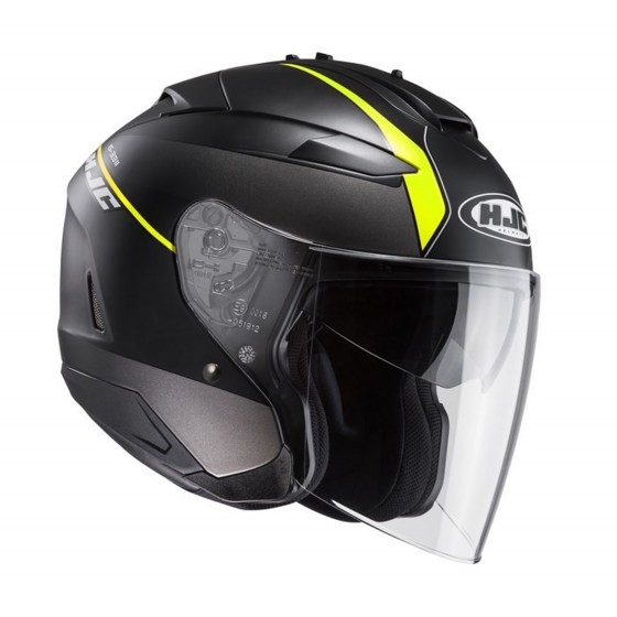 Casco HJC IS-33 Niro negro mate/ amarillo negro mate, amarillo