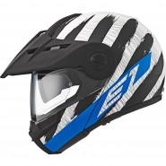 Casco Schuberth E1 Hunter azul negro, azul, blanco