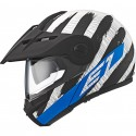 Casco Schuberth E1 Hunter azul negro, azul, blanco