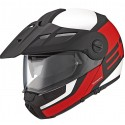 Casco Schuberth E1 Guardian rojo rojo, blanco
