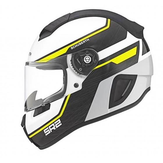 Casco Schubert SR2 Lightning amarillo blanco, amarillo, negro
