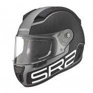 Casco Schubert SR2 Formula gris antracita, negro