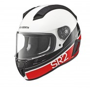 Casco Schubert SR2 Formula rojo blanco, rojo, negro