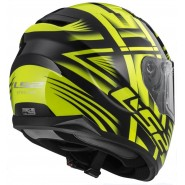 Casco LS2 FF320 Stream Bang negro/ amarillo